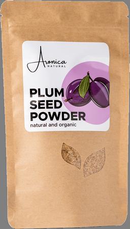 Protein flour kernel of plum bone