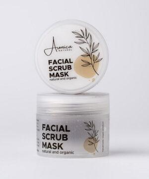 Exfoliating face mask box